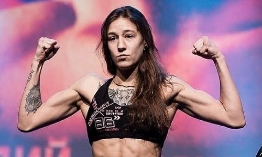 UFC-дегі алғашқы қазақстандық ару: Агапова келісім-шартқа қол қойды