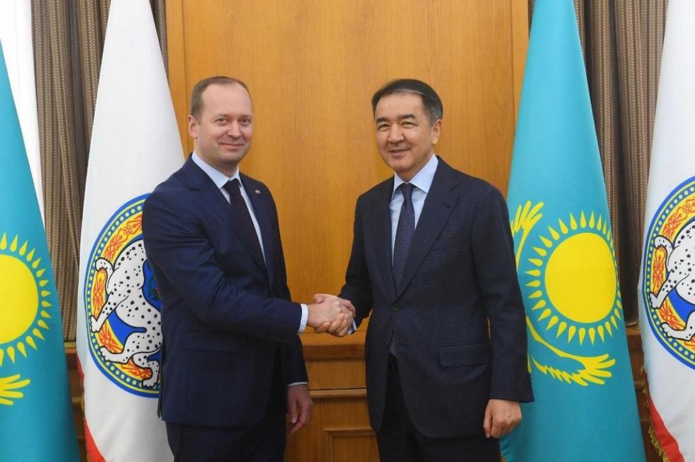 Алматының әкімі Дариус Виткаускаспен кездесті