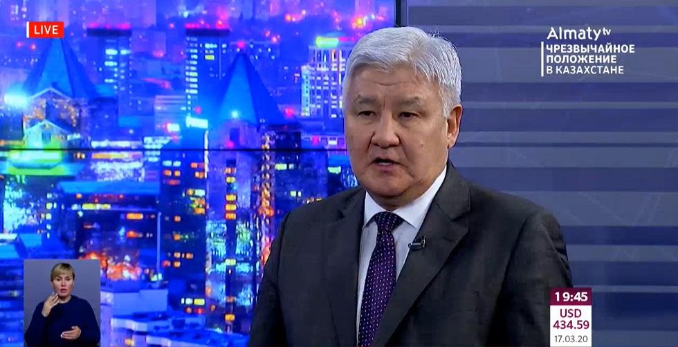 О режиме карантина в Алматы рассказал член Общественного совета Борис Джапаров