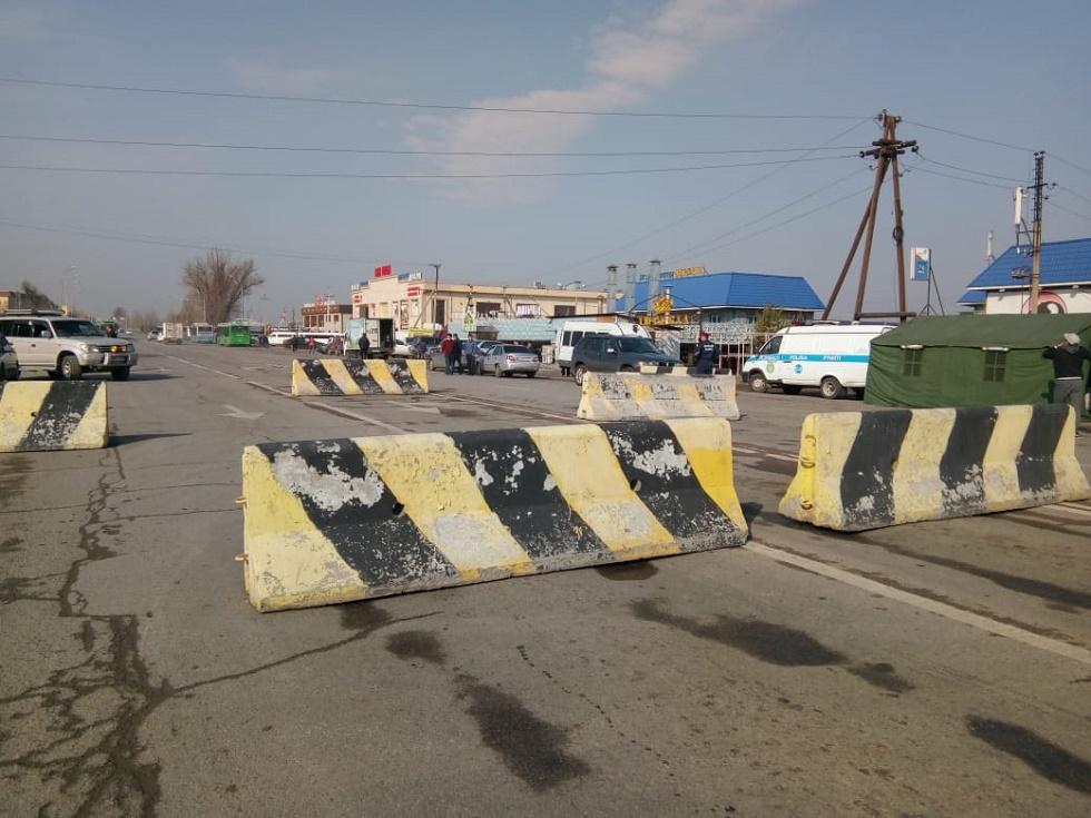 Территория города Алматы полностью закрыта на карантин