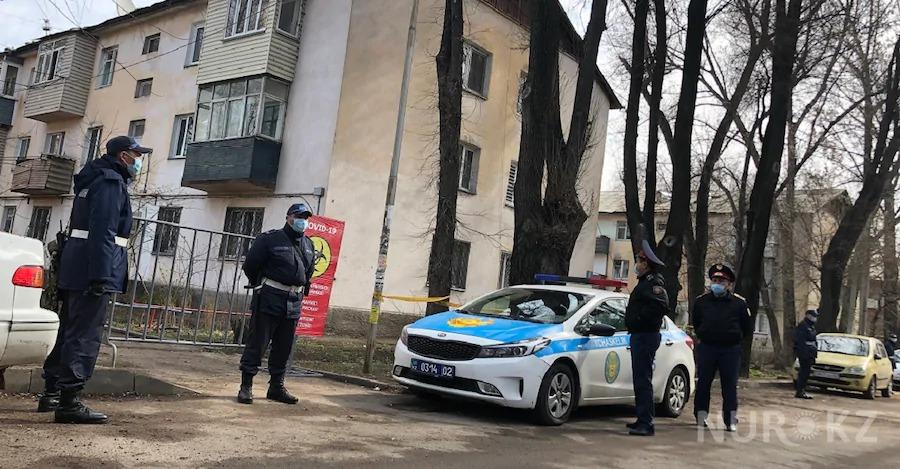 Уже восьмой дом оцепили в Алматы из-за коронавируса