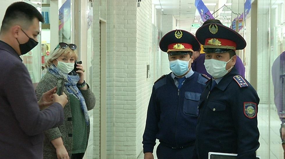 Торговый дом «Восход» в Алматы продолжал функционировать несмотря на запрет