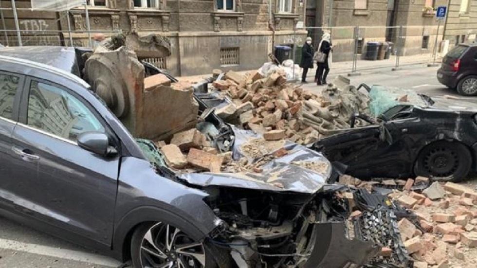 Разрушительное землетрясение в Хорватии: погиб один человек