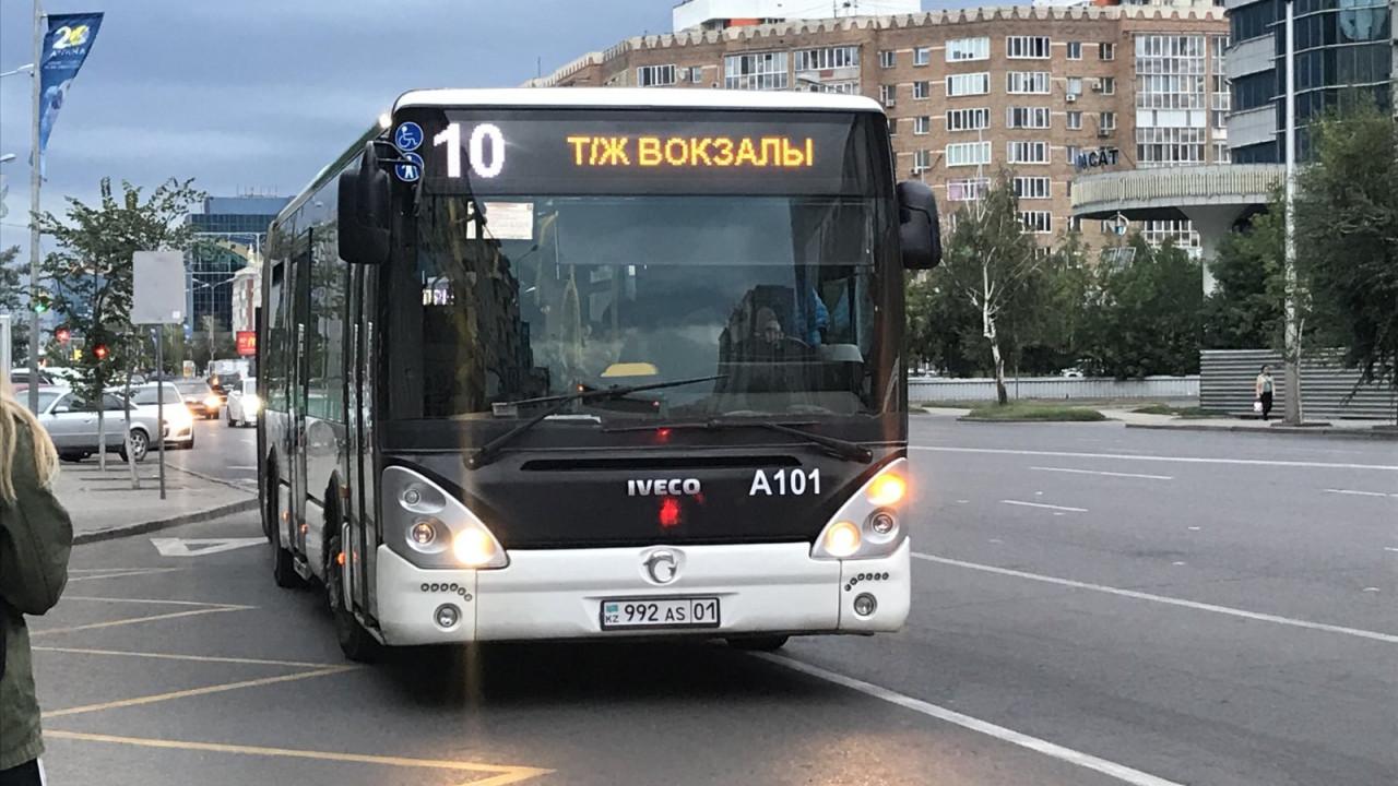 Автобусы в Нур-Султане будут ездить только до 19:00