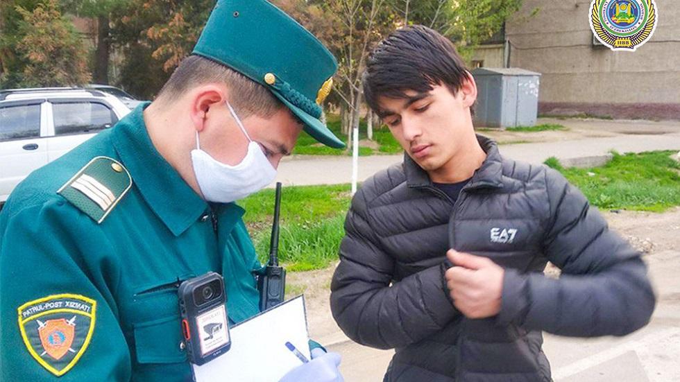 В Ташкенте за сутки оштрафовали 66 человек за передвижение без масок