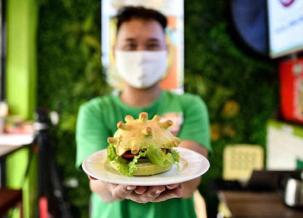 Коронавирус на вкус: бургеры в виде COVID-19 придумали во Вьетнаме