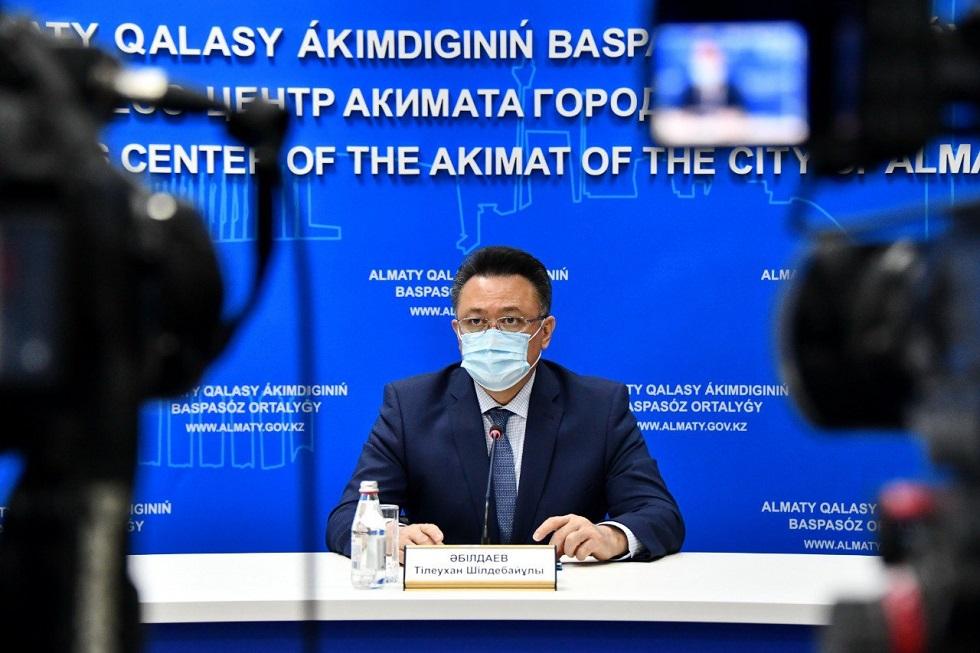 Женщина на аппарате ИВЛ в Алматы в тяжелом состоянии - Абильдаев