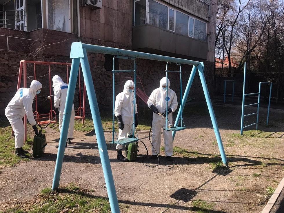 Названы новые зоны очагов коронавируса в Алматы
