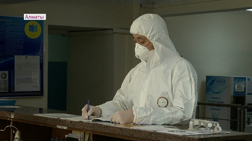 Врачей, задействованных в борьбе с коронавирусом, разместили в студенческих общежитиях Алматы