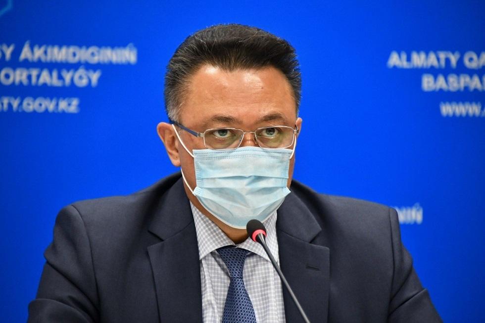О состоянии зараженных COVID-19 в Алматы рассказал глава горздрава