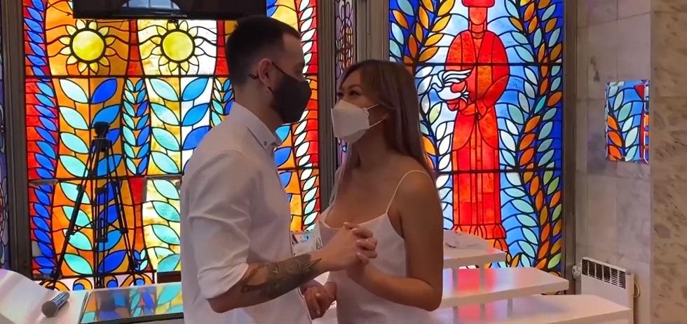 Очередная свадьба по Skype состоялась в Бишкеке