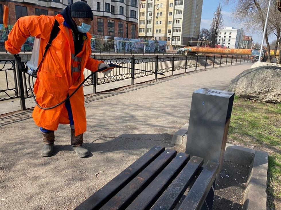 Опубликован список компаний, выполняющих дезинфекцию в Алматы