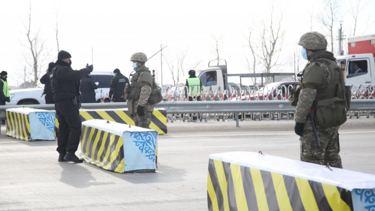 На 10 суток арестовали жителя СКО за попытку незаконного перехода блокпоста