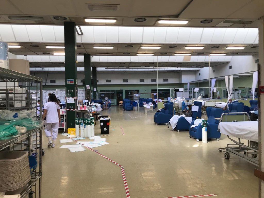 Власти Италии и Испании регистрируют уменьшение темпа роста эпидемии