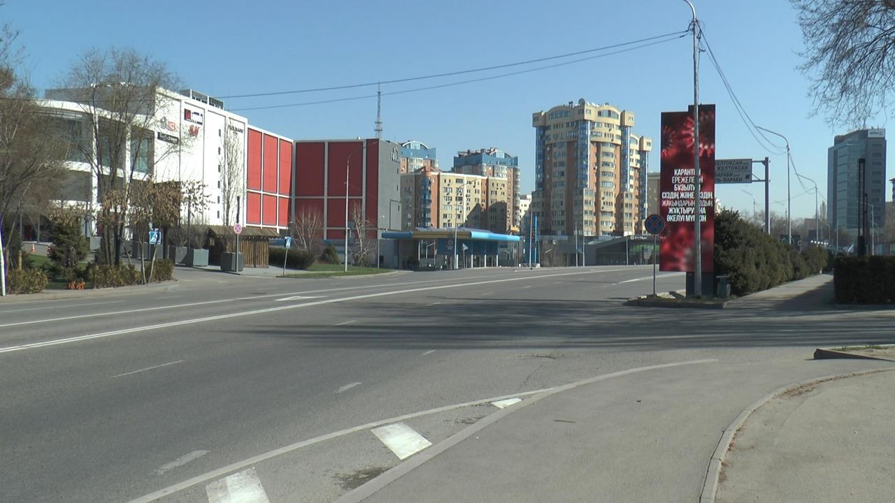Количество авто на дорогах Алматы уменьшилось почти в пять раз