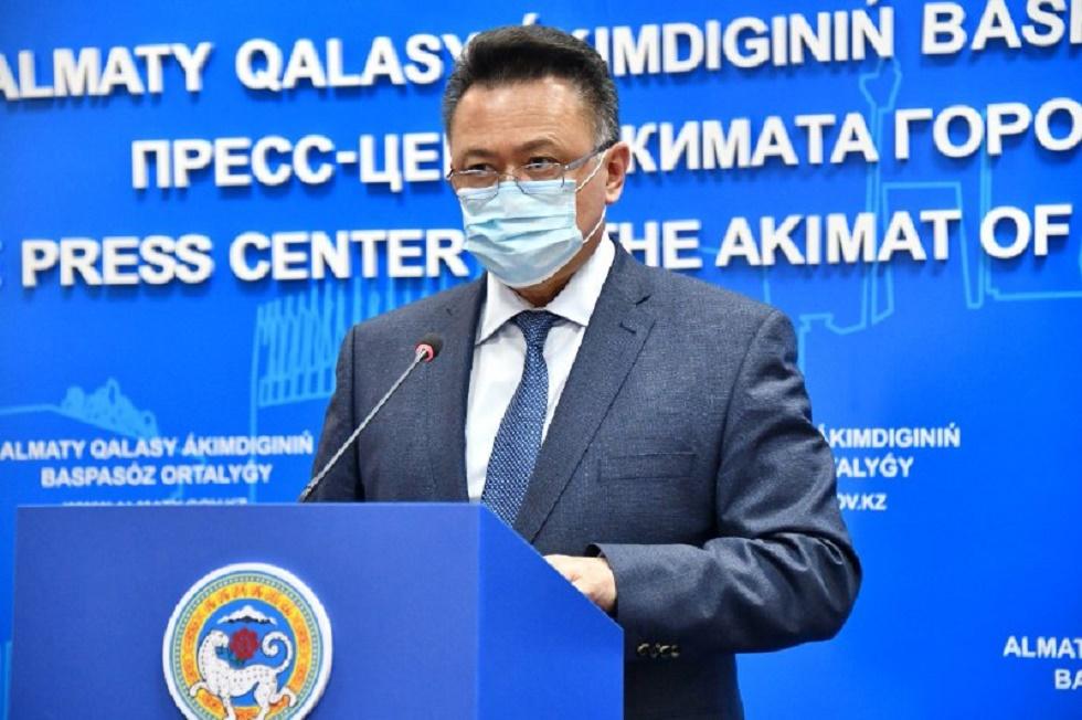 В Алматы подтверждено 119 случаев заражения коронавирусной инфекцией