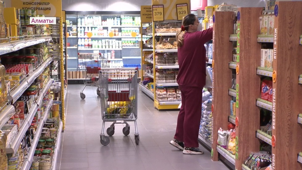Соблюдают ли предельные цены на продукты питания в Алматы