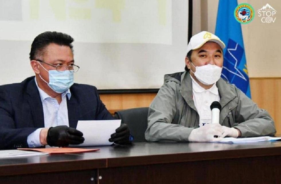 Ержан Бабакумаров встретился с коллективом городской клинической больницы №4