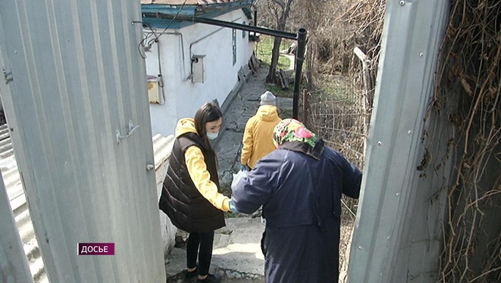 Больше тысячи семей Алматы получили продуктовые корзины от волонтеров