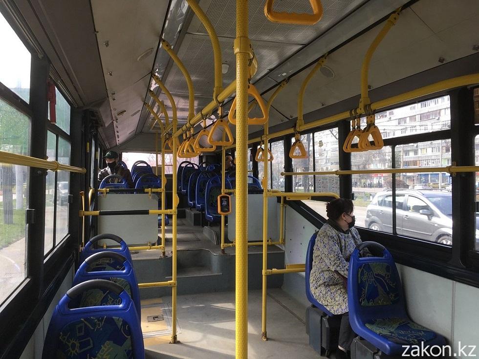 Средний пассажиропоток на один автобус в Алматы составляет 107 человек за весь день - Телибаев