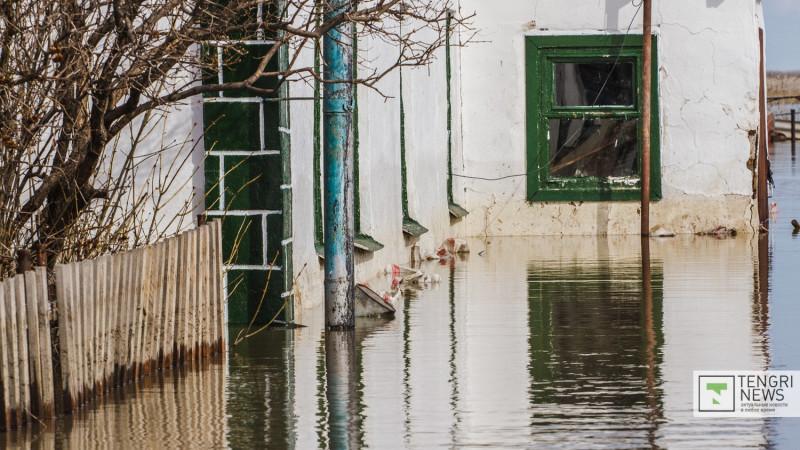60 домов подтопило в селе Костанайской области: жителей эвакуировали