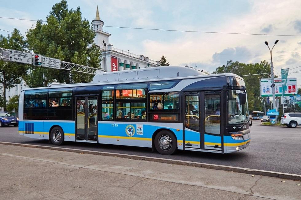 В Алматы запускают дополнительные автобусы на маршруты