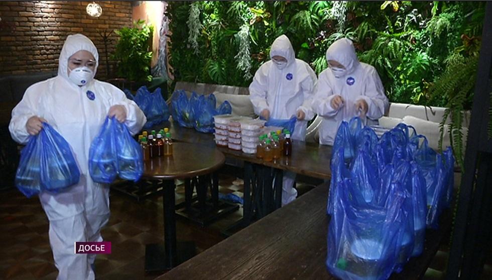 12 тысяч алматинцев получили продуктовые корзины от фонда «Жана Алатау»