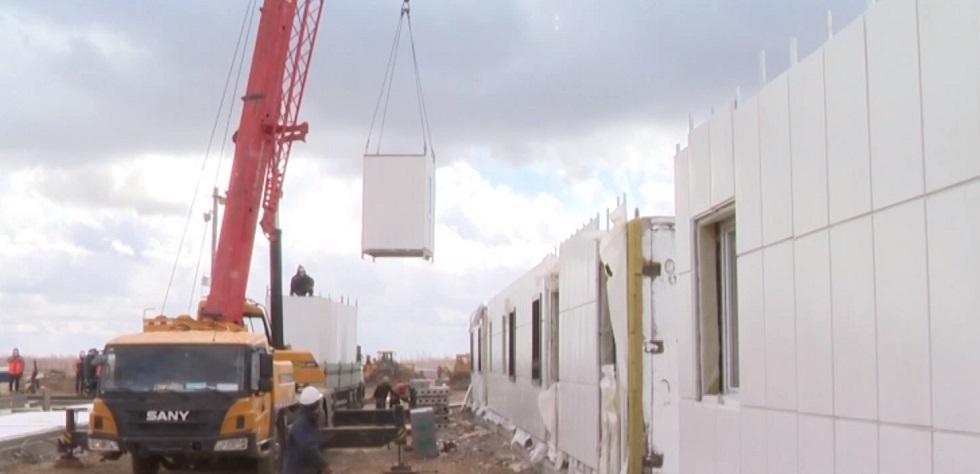 Стационар для зараженных COVID-19 построят за две недели в Нур-Султане