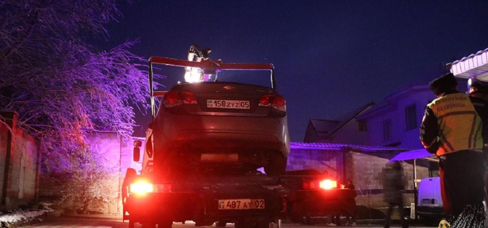 Водитель сбил насмерть алматинку и скрылся с места ДТП