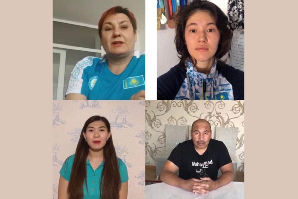 Известные спортсмены призвали казахстанцев бороться с коррупцией