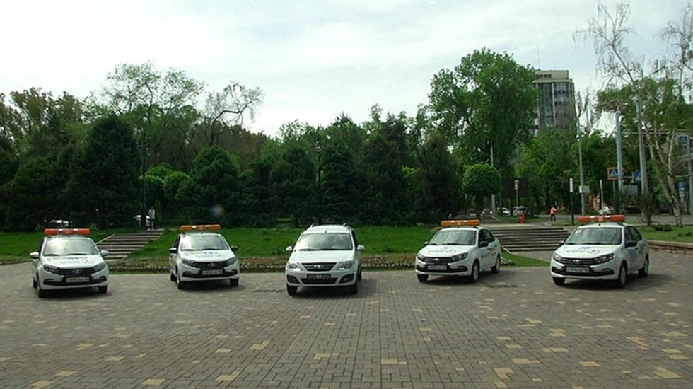 Дом ветеранов в Алматы получил в подарок новые автомобили