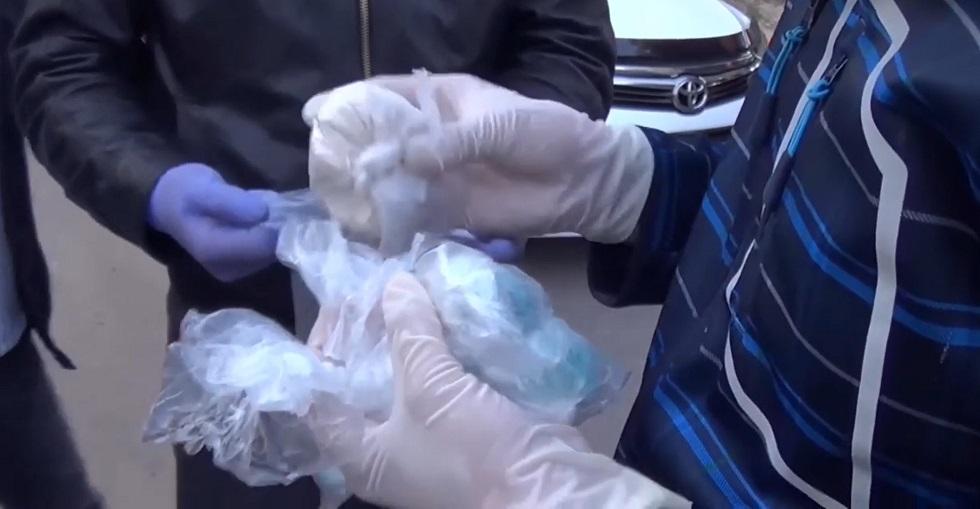 Почти 110 граммов героина хранил житель Павлодара в своем рюкзаке