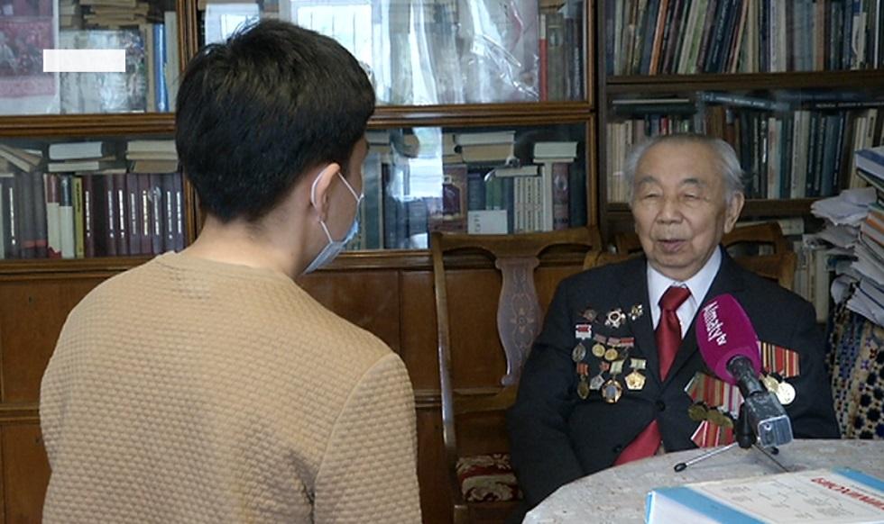 Ұлы Жеңіске 75 жыл: Жаудың 600 минасын жойған ардагер Зұлқарнай Сейітов жайында