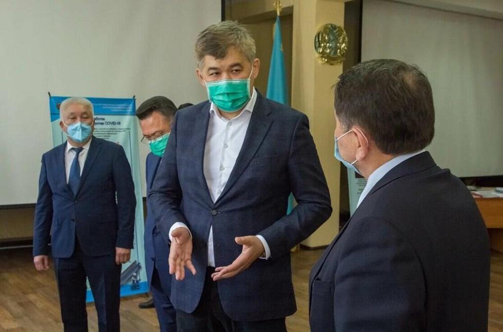 Глава Минздрава РК Елжан Биртанов принял участие в совещании по вопросам научно-технической программы МЗ РК