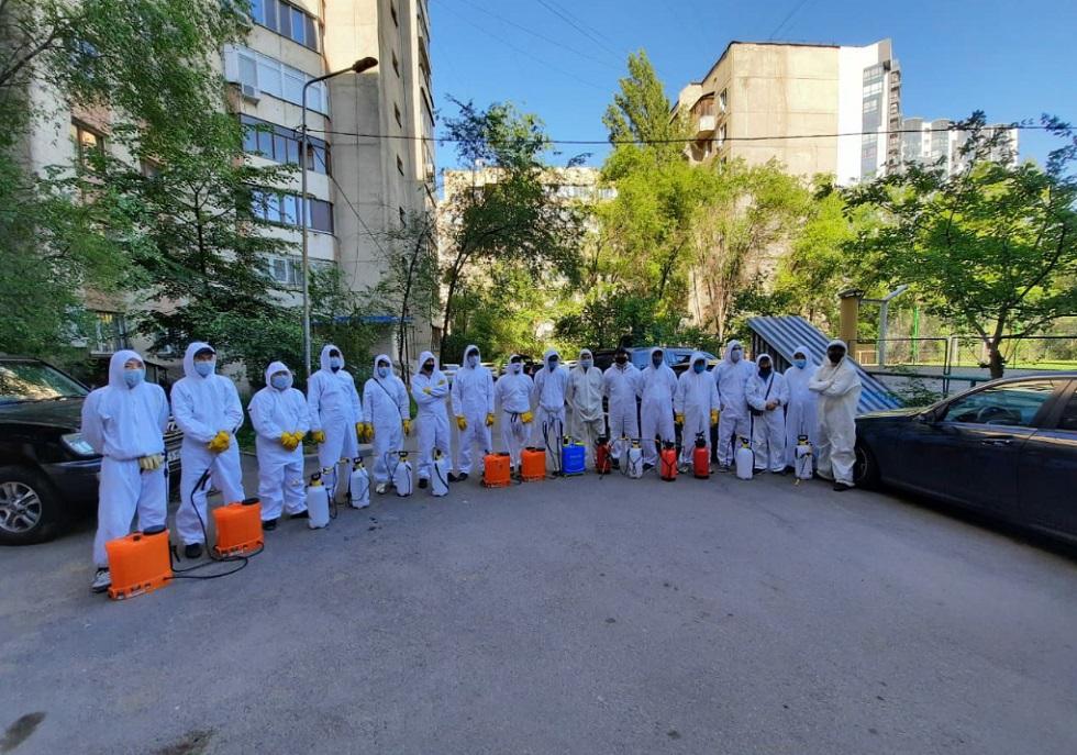 Дезинфекционная обработка в Алматы по состоянию на 23 мая 2020 года