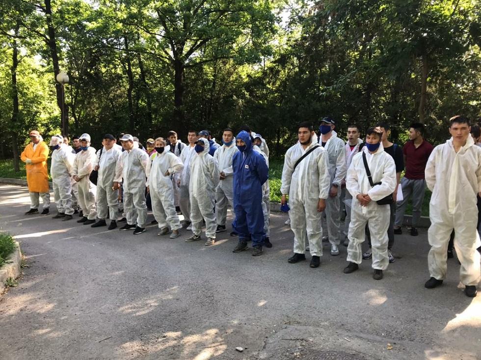 Дезинфекционная обработка в Алматы по состоянию на 25 мая 2020 года