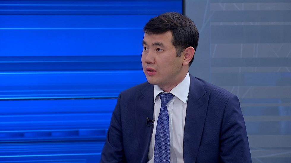 Заместитель акима Наурызбайского района в эфире AKIMAT LIVE (28.05.20)