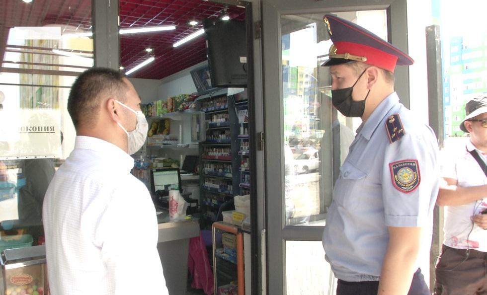 В Наурызбайском районе Алматы закрывают торговые точки и объекты общепита за нарушение саннорм