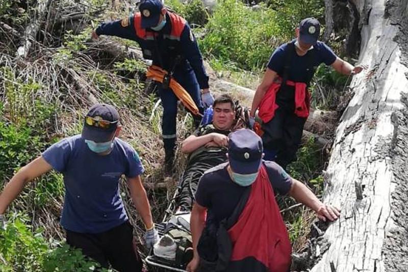 Туристы застряли в ущелье реки Батарейка: есть пострадавшие