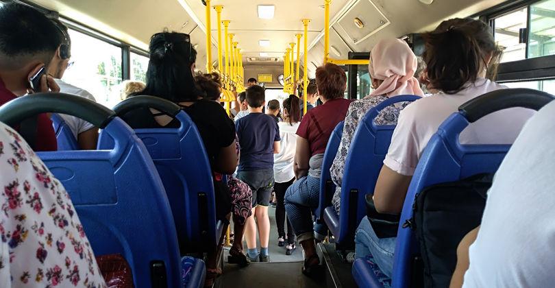 Общественный транспорт в Алматы вернулся в прежний режим работы