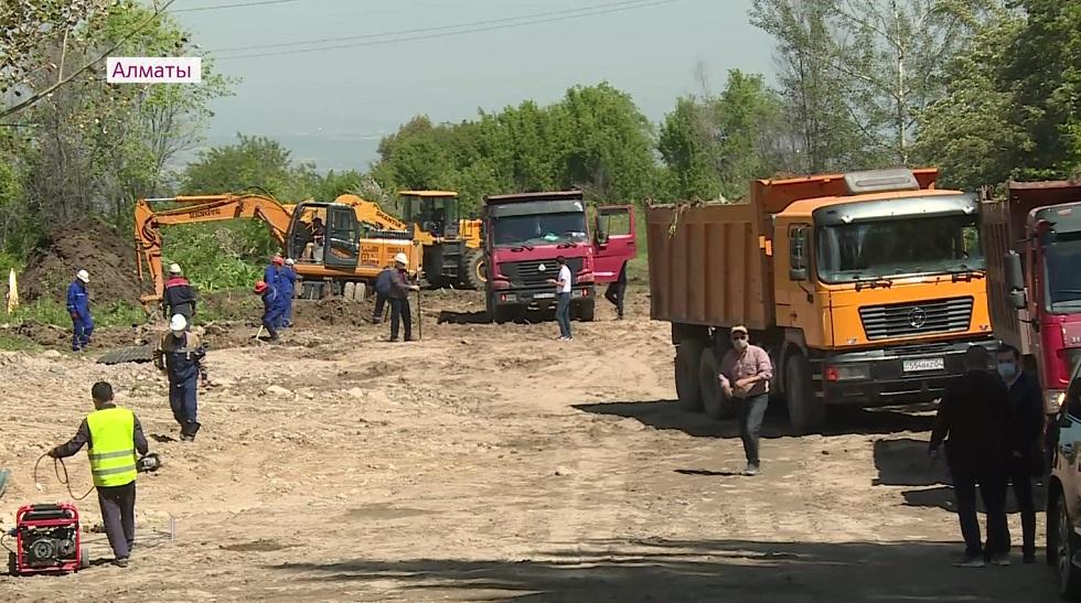 Девять микрорайонов Наурызбайского района впервые получат доступ к питьевой воде