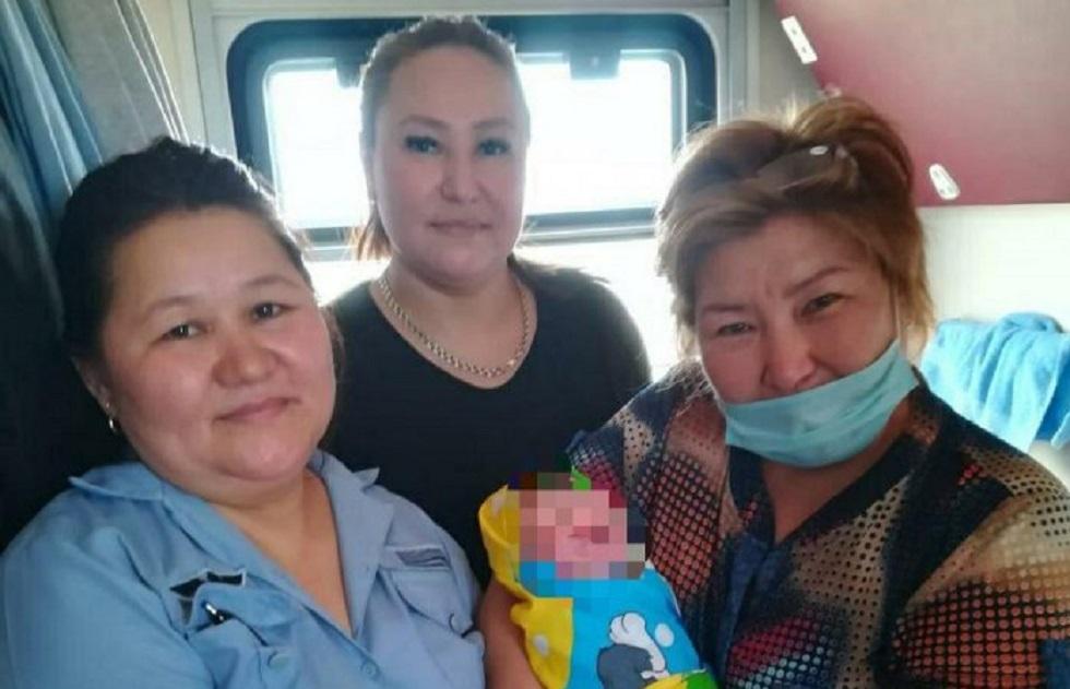Пассажирка родила сына в поезде по пути в Актау