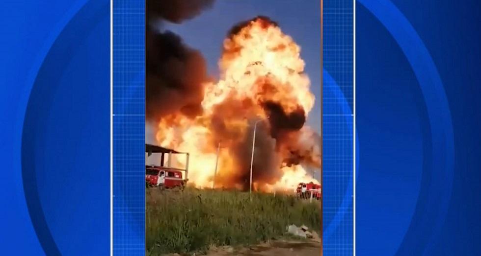 Взрыв произошел на АЗС в Атырау
