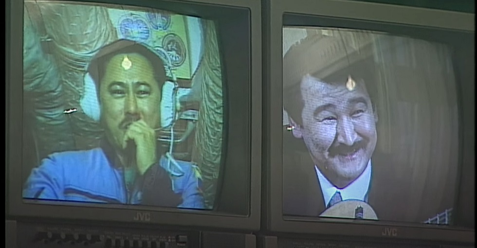 Благословение из космоса: Талгат Мусабаев 22 года назад участвовал в презентации новой столицы Казахстана