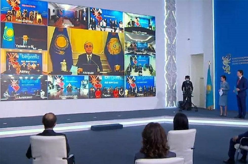 Вы с честью прошли сложный режим ЧП - Токаев поздравил полицейских с профессиональным праздником