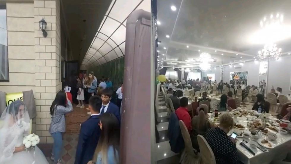 Свадебный банкет во время строго карантина в Алматы: в акимате прокомментировали резонансный случай