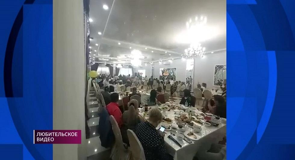 Свадебный банкет во время карантина: владельца кафе в Алматы оштрафуют