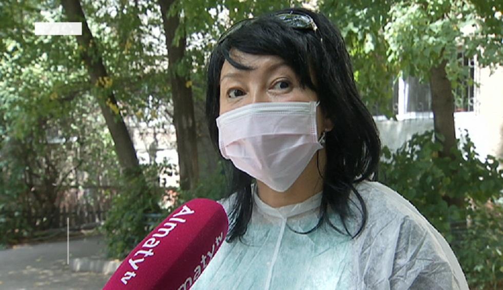 Обход контактных и бессимптомных провели в Жетысуском районе Алматы