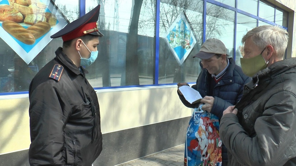 Казахстанцев будут штрафовать за нарушения карантинного режима