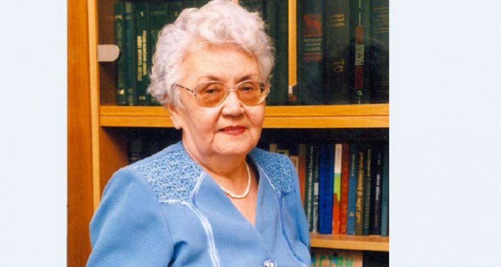 Ана тілінің дамуына өлшеусіз үлес қосқан, академик-ғалым Рәбиға Сыздық 96 жасында дүниеден озды